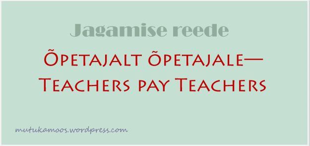 õppematerjalid lasteaiaõpetajatele